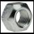 ISO 7042 Sechskantmuttern mit Metallklemmteil, Ganzmetallmuttern