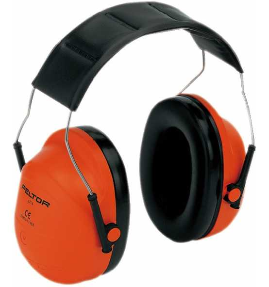 3M Gehörschützer PELTOR H31A300, orange, Bild 17658 Detail