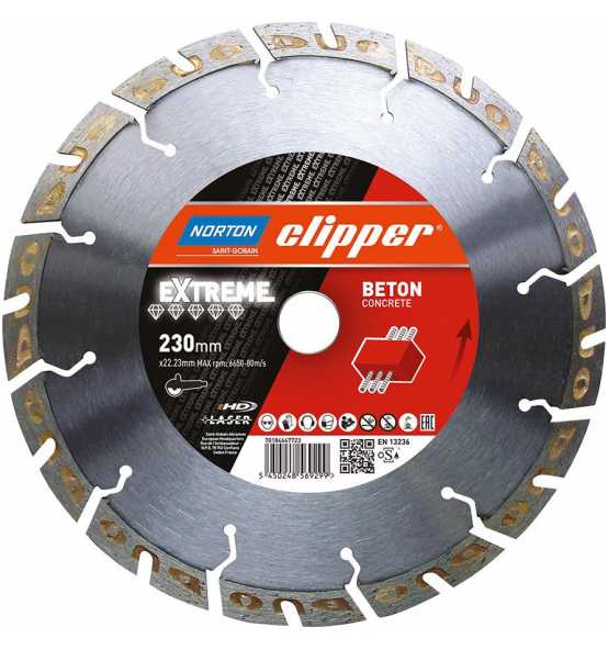 Clipper-Diamantblatt-Extreme-Beton