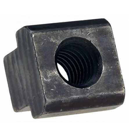 DIN 508 T-Nutensteine Stahl blank, Klasse 10