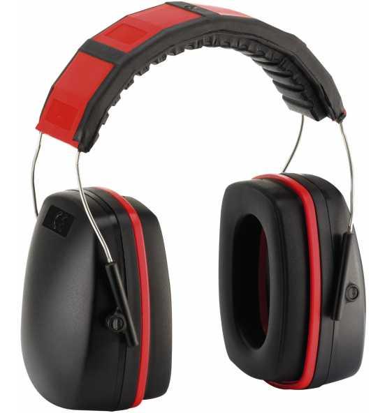 FORTIS Kapselgehörschützer, 28 dB, rot, Bild 5717 Detail