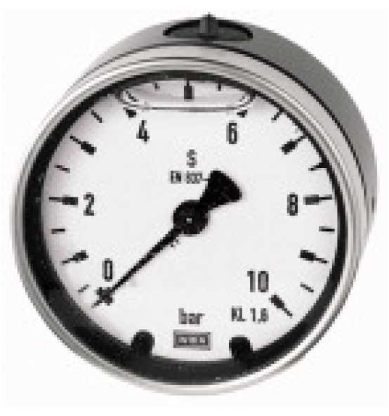 Glyzerinmano., Metallgehäuse, zentrisch, Bild 366624 Klein