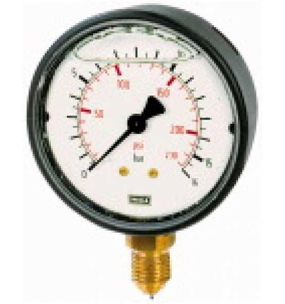 Glyzerinmanometer, Kunststoff, unten, Bild 365906 Klein