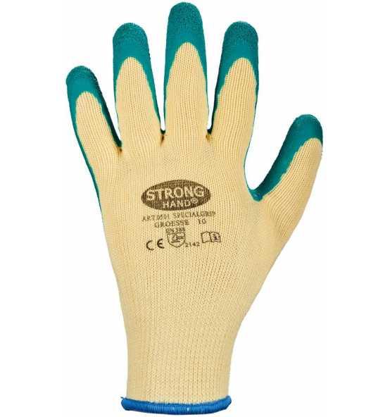 Stronghand Latexhandschuh Safehand SpecialGrip, Bild 501430 Klein