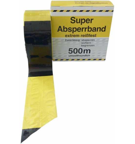 Absperrband Schwarz Gelb 500 M Rolle Bei Reidl De Online Kaufen