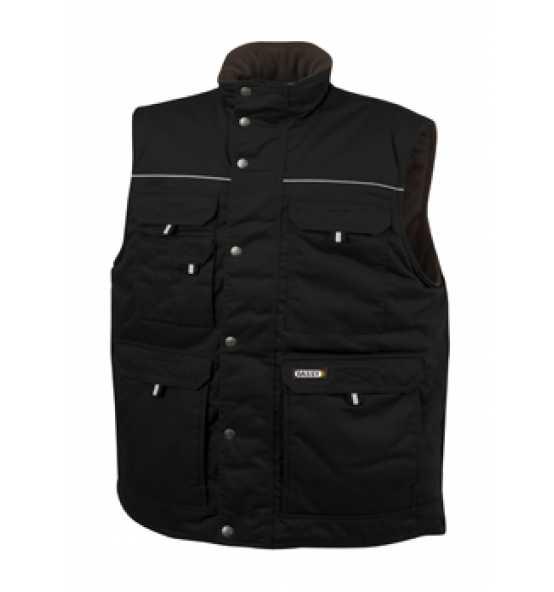 Dassy® ärmellose Jacke Mons 350062 Pesco 61 245gm² Gr. 3XL schwarz