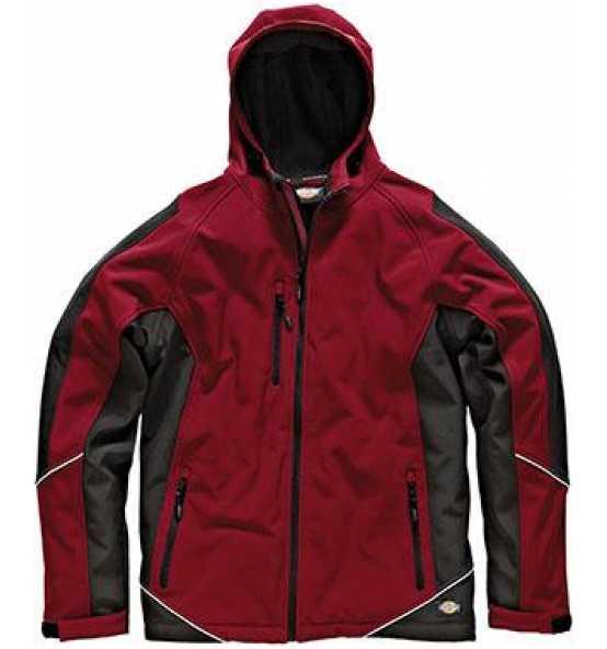 XXXL Bekleidung & Schutzausrüstung Softshelljacke INDUSTRY rot-schwarz Gr