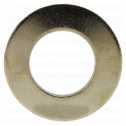 DIN 125 Scheiben, Form , 10,5 (10,5x20x2) Messing galv. vernickelt Klein