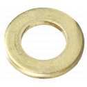 DIN 125 Scheiben, Form A, 40 (40x72x6) Messing blank Klein