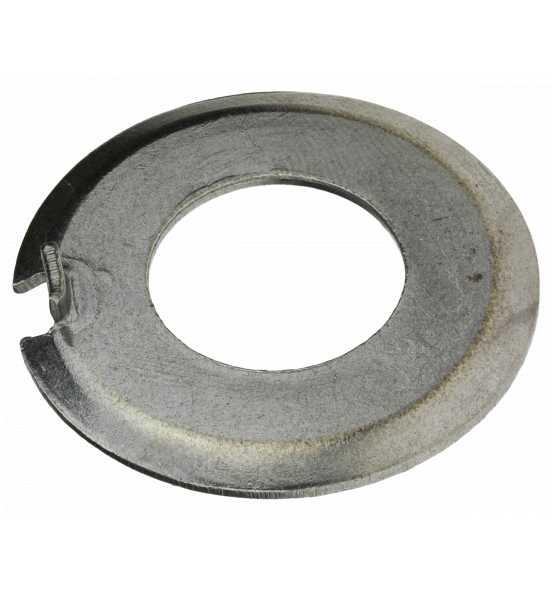 Scheiben mit Außennase ehemals DIN 432 Stahl blank