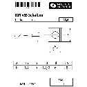 DIN 435 Scheiben für Doppel-T-Träger, 13,5, keilförmig 14%, Vierkant,  Stahl blank Klein