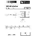 DIN 435 Scheiben für Doppel-T-Träger, 17,5, keilförmig 14%, Vierkant,  A4 blank Klein