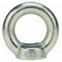 DIN 582 Ringmuttern M 10, Stahl galv. verzinkt farblos Klein