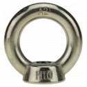 DIN 582 Ringmuttern M 27, A2 blank Klein