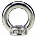 DIN 582 Ringmuttern M 36, A4 blank Klein