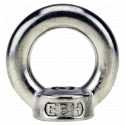 DIN 582 Ringmuttern M 6, A4 blank Klein
