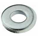 DIN 7349 Scheiben 3,2 x 9 x 1, für Schrauben mit schweren Spannstiften, Stahl galv. verzinkt farblos Klein