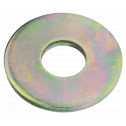 DIN 9021 Scheiben mit Außendurchmesser ca. 3 d, 15,  Stahl galv. verzinkt gelb chrom. Klein