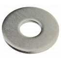 DIN 9021 Scheiben mit Außendurchmesser ca. 3 d, 20,  A2 blank Klein