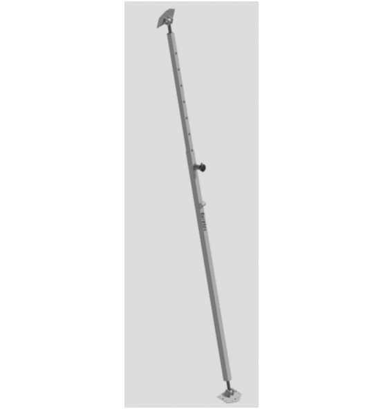 Wandstütze 1600 - 3000 mm, Bild 305995 Detail