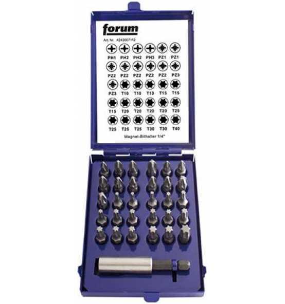 forum-bit-sortiment-1viertel-zoll-31-teilig-fuer-schlitz-ph-pz-innensechskant-torx-h-p668673