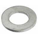 ISO 7089 Scheiben 10 (10,5x20x2), Form A flach ohne Fase, Alu blank Klein
