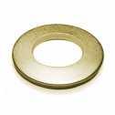 ISO 7089 Scheiben 3 (3,2x7x0,5), 200 HV, Form A flach ohne Fase, Stahl galv. verzinkt gelb chrom. Klein