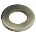 ISO 7089 Scheiben 4 (4,3x9x0,8), 200 HV, Form A flach ohne Fase, Stahl galvanisch vernickelt Klein