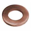 ISO 7089 Scheiben 8 (8,4x16x1,6), Form A flach ohne Fase, Kupfer blank Klein