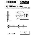 ISO 7093 Flache Scheiben 14 (15x44x3), mit Außendurchmesser ca. 3d, 200 HV Stahl blank Klein