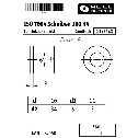 ISO 7094 Flache Scheiben 10 (11x34x3), für Holzkonstruktionen, 100 HV Stahl blank Klein