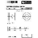 ISO 7094 Flache Scheiben 12 (13,5x44x4), für Holzkonstruktionen, 100 HV Stahl blank Klein