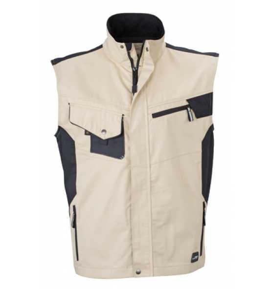 Daiber Workwear Weste JN822 Gr. S stoneblack