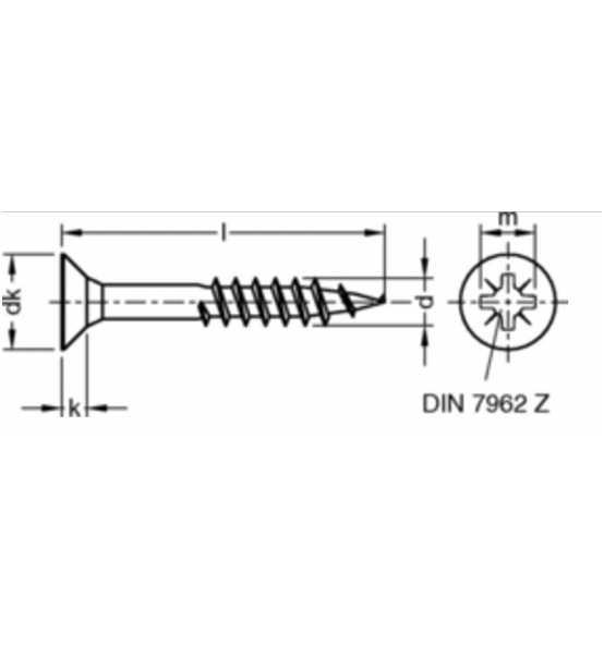 jd-79-spanpattenschrauben-3-5x40-stahl-galv-verzinkt-gelb-chromatiert-senkkopf-kreuzschlitz-pozidrive-p165102