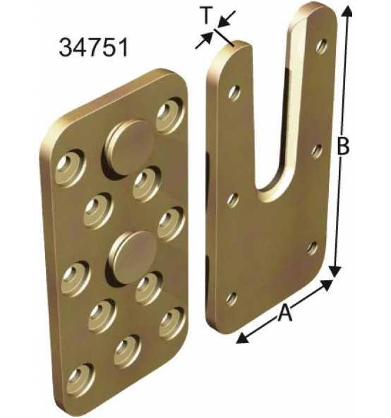 Passverbinder ATF 55 x 150, Bild 26197 Detail