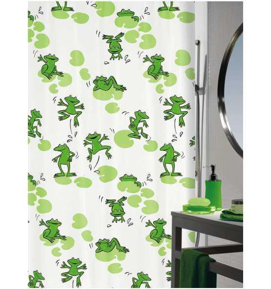 spirella-duschvorhang-frog-green-180x200-100-polyester-p7693