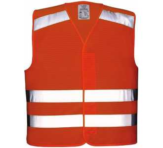 Airsoft 54 Warnbundhose Nizza orange-grau Gr