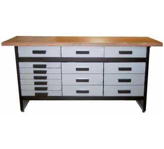 werkbank wb15 15 schubladen bei online kaufen. Black Bedroom Furniture Sets. Home Design Ideas
